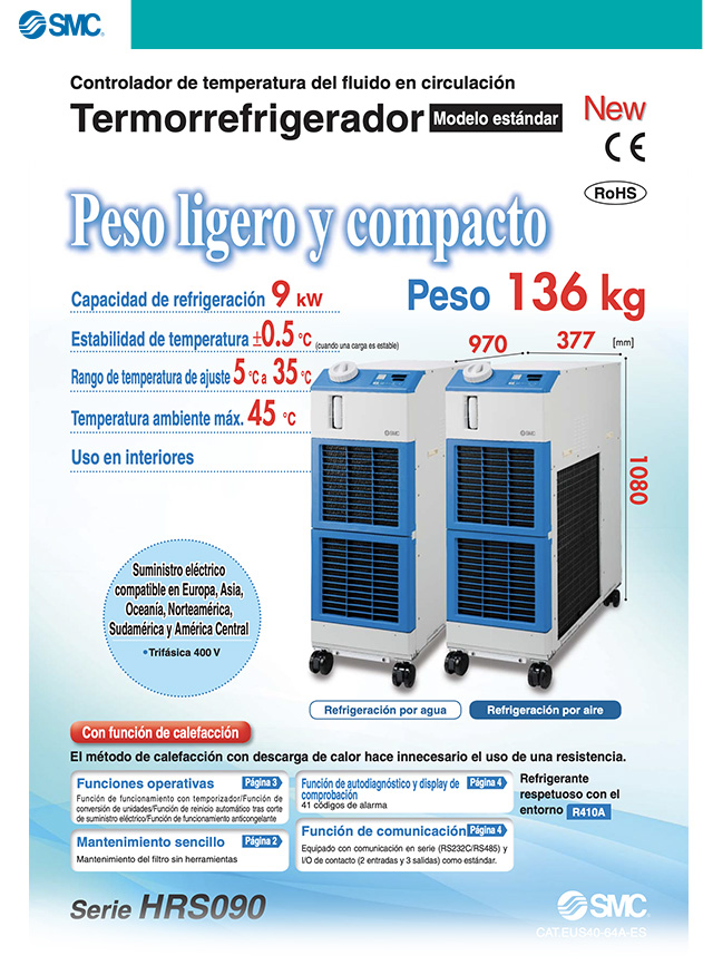 termo chiller HRS090
