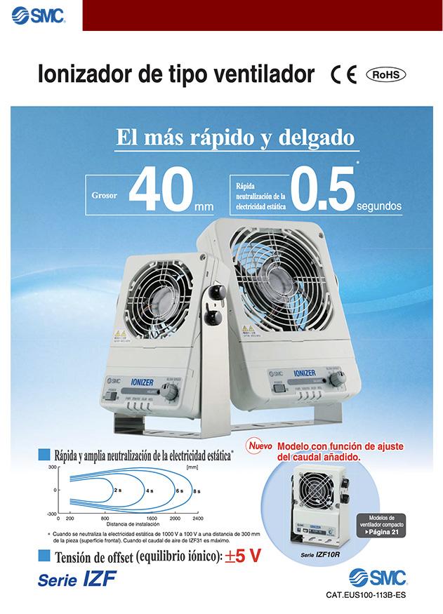 ionizador tipo ventilador