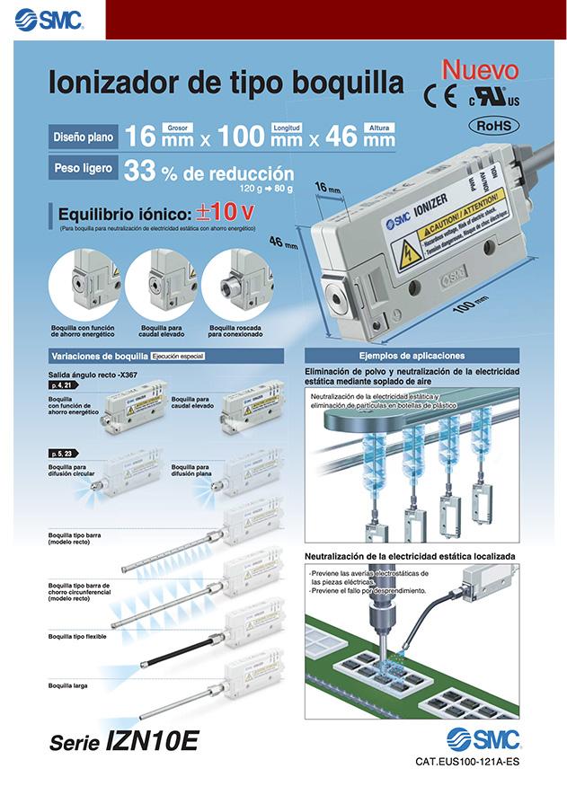 ionizador tipo casete
