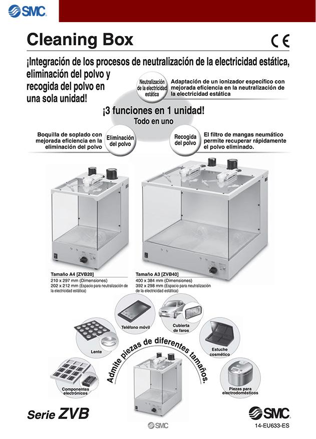 caja ionizadora