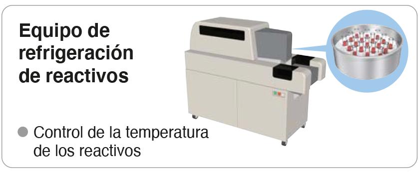 refrigeración de reactivos