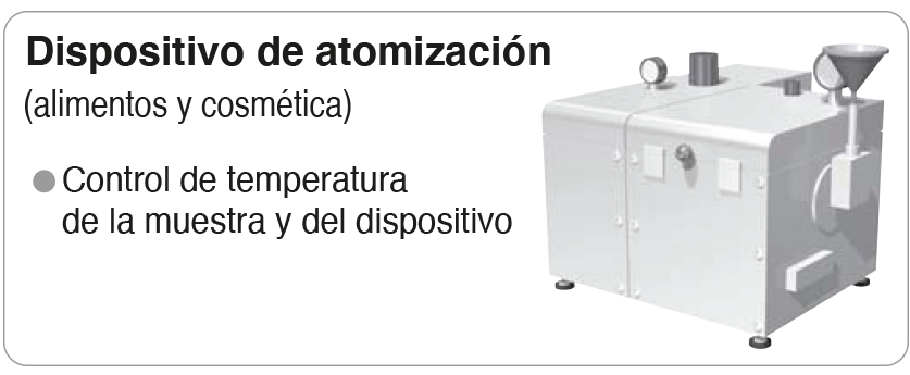 control de temperatura dispensador