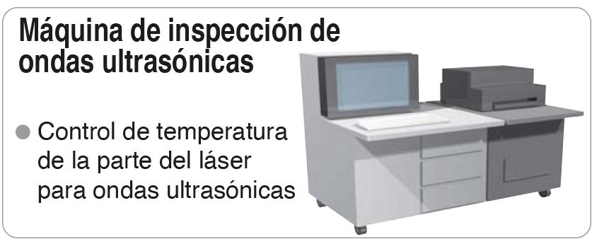 inspección de ondas ultrasónicas