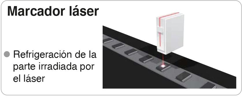 marcador laser